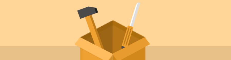 Dessins carton marteau et lime